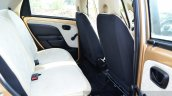 Tata Nano Twist Review rear seat