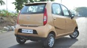 Tata Nano Twist Review rear shot