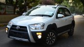 Toyota Etios Cross Review front three quarter