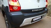 Toyota Etios Cross Review rear bumper