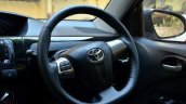 Toyota Etios Cross Review steering