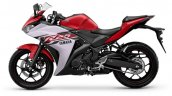 Yamaha YZF-R25 diablo red color