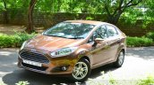 2014 Ford Fiesta Facelift Review Golden Brown