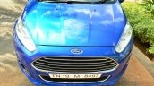 2014 Ford Fiesta Facelift Review front angle