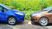 2014 Ford Fiesta Facelift Review front fascias