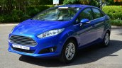 2014 Ford Fiesta Facelift Review front quarter