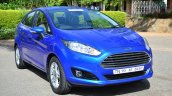 2014 Ford Fiesta Facelift Review front three quarter