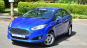 2014 Ford Fiesta Facelift Review front three quarters