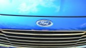 2014 Ford Fiesta Facelift Review grille FORD logo