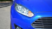2014 Ford Fiesta Facelift Review headlight image