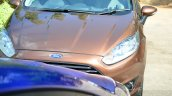 2014 Ford Fiesta Facelift Review hood
