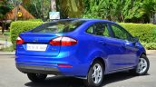 2014 Ford Fiesta Facelift Review rear quarters