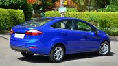 2014 Ford Fiesta Facelift Review rear three quarter