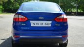 2014 Ford Fiesta Facelift Review rear