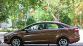2014 Ford Fiesta Facelift Review side angle shot