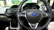 2014 Ford Fiesta Facelift Review steering system
