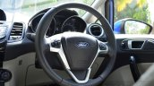 2014 Ford Fiesta Facelift Review steering