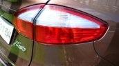 2014 Ford Fiesta Facelift Review taillight image