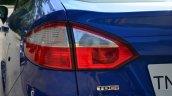 2014 Ford Fiesta Facelift Review taillight