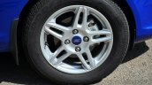 2014 Ford Fiesta Facelift Review wheel