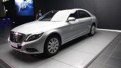 2014 Mercedes-Benz S Class S350 diesel launch front quarter