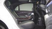 2014 Mercedes-Benz S Class S350 diesel launch rear seat