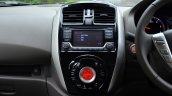 2014 Nissan Sunny facelift diesel review center console