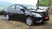 2014 Nissan Sunny facelift diesel review front three quarter