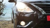 2014 Nissan Sunny facelift diesel review headlights on