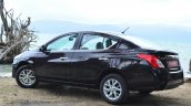2014 Nissan Sunny facelift diesel review rear three quarters