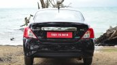 2014 Nissan Sunny facelift diesel review rear view