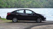 2014 Nissan Sunny facelift diesel review side angle