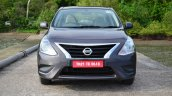 2014 Nissan Sunny facelift petrol CVT review front