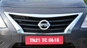 2014 Nissan Sunny facelift petrol CVT review grille
