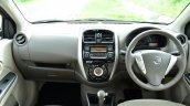 2014 Nissan Sunny facelift petrol CVT review interiors