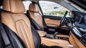 2015 BMW X6 press shots front seat