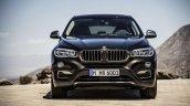 2015 BMW X6 press shots front