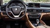 2015 BMW X6 press shots interior
