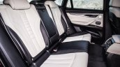 2015 BMW X6 press shots rear seats
