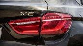 2015 BMW X6 press shots taillight