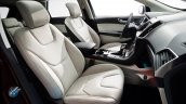 2015 Ford Edge official image beige interior