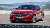 2015 Mercedes CLS Class front official image