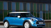 2015 Mini Five-Door press shot front three quarter angle