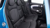 2015 Mini Five-Door press shot rear seat