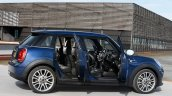 2015 Mini Five-Door press shot side doors open