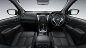 2015 Nissan Navara black interior offical image