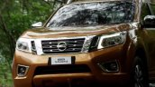 2015 Nissan Navara front fascia video screen capture