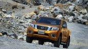 2015 Nissan Navara front offical image