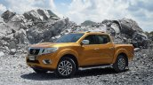 2015 Nissan Navara front three quarter offical image