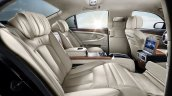 2015 Ssangyong Chairman W rear seats